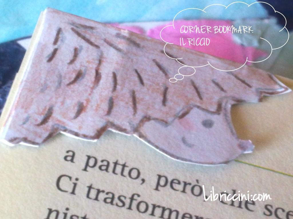 corner bookmark: riccio segnalibro
