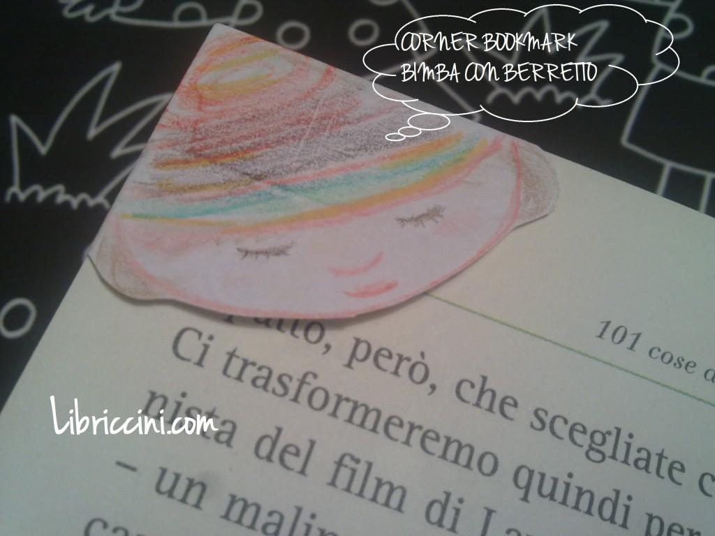corner bookmark: cappello da streghetta