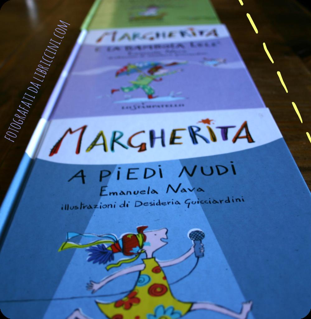 MARGHERITA A PIEDI NUDI, EMANUELA NAVA, DESIDERIA GUICCIARDINI, ED. LO STAMPATELLO